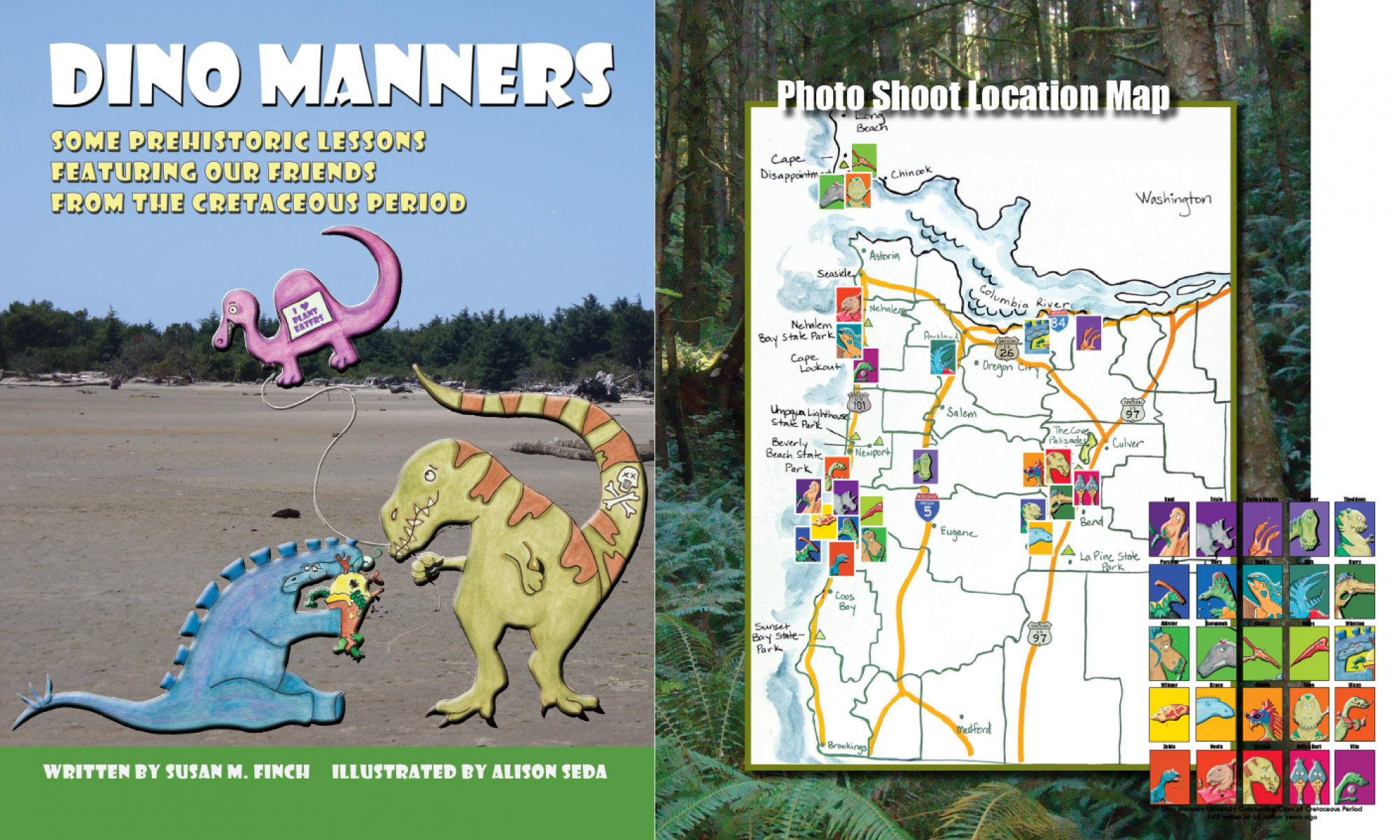 Dino Manners by Alison Seda and Susan M Finch